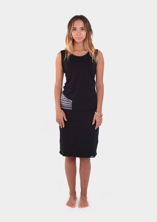 Surf Black Womens Dress /17