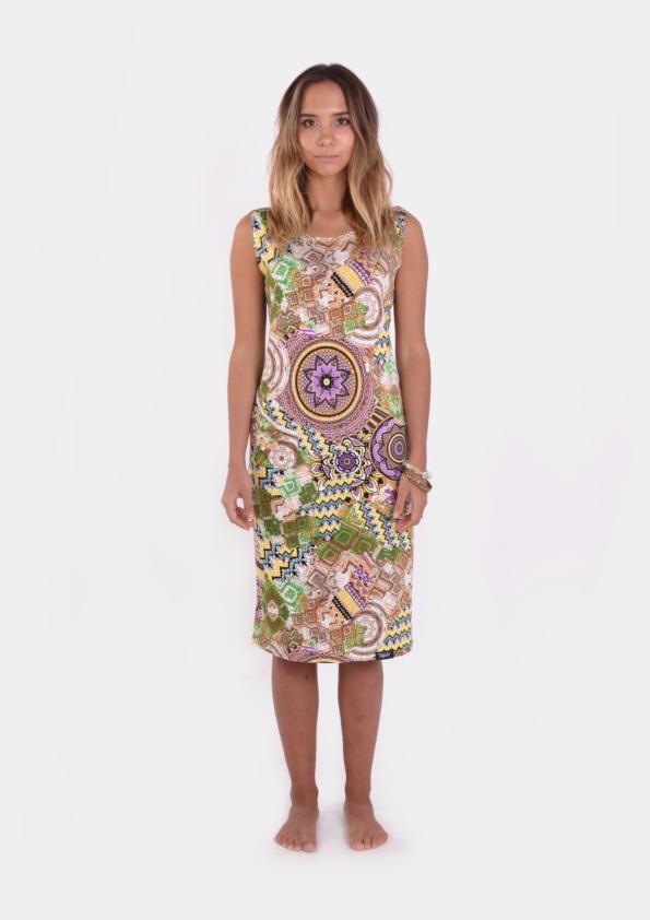 Surf Ornamental Womens Dress /17