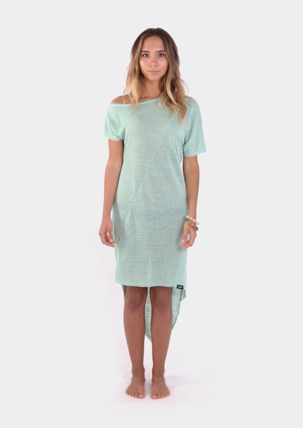 Mint Assymetric Womens Dress /17