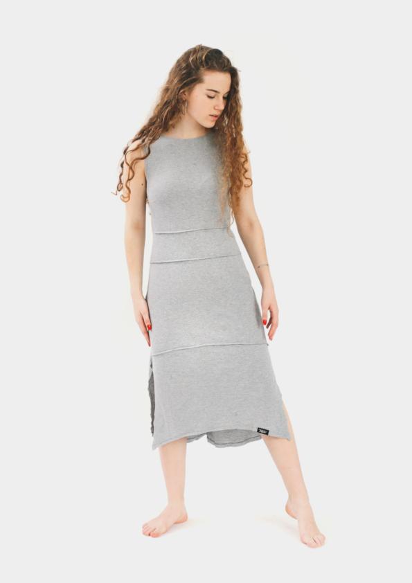 Платье удлиненное Freedom Grey