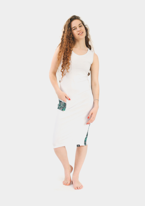 белое платье Surf