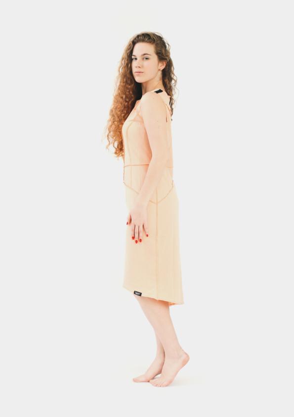 Платье корсет Stripes Shade Peach