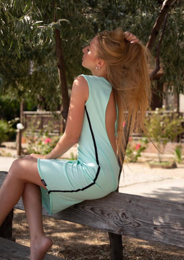 Платье с открытой спиной Sunset